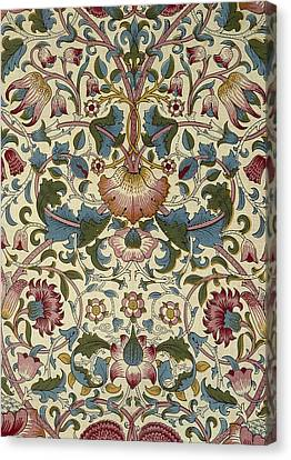 Wallpaper Design Canvas Print by William Morris