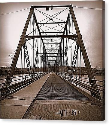 Walnut Street Bridge Canvas Print by Joseph Skompski