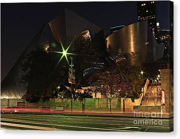 Walt Disney Concert Hall  Canvas Print by Kevin Ashley
