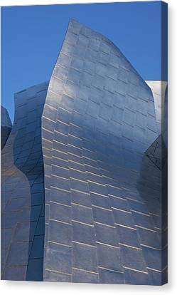 La Philharmonic Canvas Print - Walt Disney Concert Hall by Mark Williamson