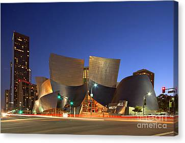 La Philharmonic Canvas Print - Walt Disney Concert Hall by Shishir Sathe