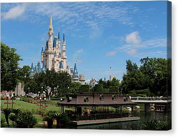 Amusements Canvas Print - Walt Disney World Orlando by Pixabay
