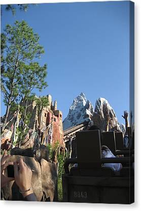 Walt Disney World Resort - Animal Kingdom - 12126 Canvas Print by DC Photographer