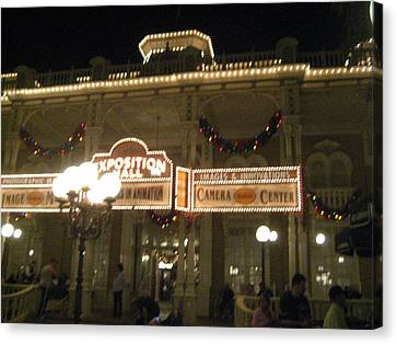 Walt Disney World Resort - Magic Kingdom - 12121 Canvas Print by DC Photographer