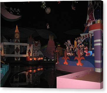 Walt Disney World Resort - Magic Kingdom - 1212103 Canvas Print by DC Photographer