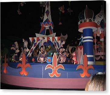 Walt Disney World Resort - Magic Kingdom - 1212104 Canvas Print by DC Photographer