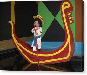 Walt Disney World Resort - Magic Kingdom - 1212108 Canvas Print by DC Photographer
