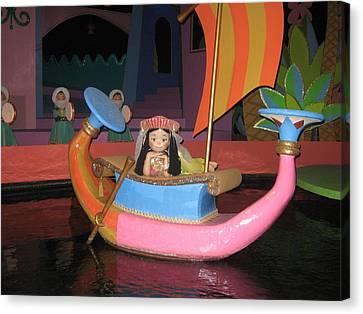 Walt Disney World Resort - Magic Kingdom - 1212114 Canvas Print by DC Photographer
