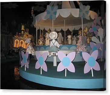 Walt Disney World Resort - Magic Kingdom - 1212122 Canvas Print by DC Photographer