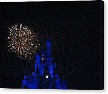Walt Disney World Resort - Magic Kingdom - 121233 Canvas Print by DC Photographer