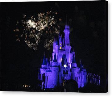 Walt Disney World Resort - Magic Kingdom - 121243 Canvas Print by DC Photographer