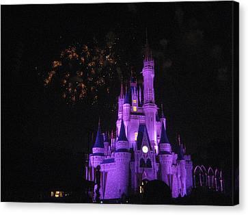Walt Disney World Resort - Magic Kingdom - 121246 Canvas Print by DC Photographer