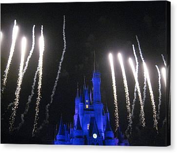 Walt Disney World Resort - Magic Kingdom - 121251 Canvas Print by DC Photographer