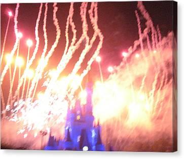 Walt Disney World Resort - Magic Kingdom - 121269 Canvas Print