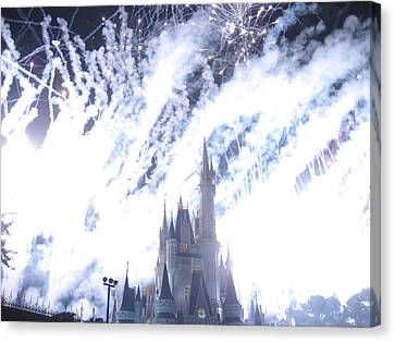 Walt Disney World Resort - Magic Kingdom - 121295 Canvas Print