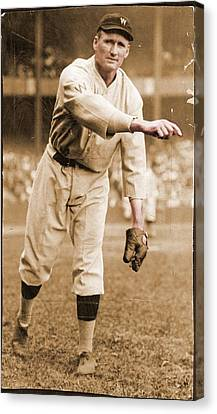 Walter Johnson Poster Canvas Print by Gianfranco Weiss