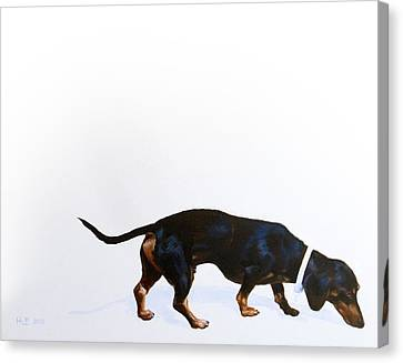 Kevin Hill Canvas Print - Walter by Kevin Hill