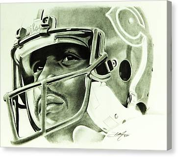 Canvas Print - Walter Payton by Don Medina