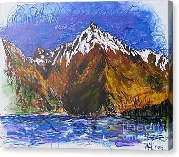 Walter Peak Queenstown  Canvas Print by Max Lines