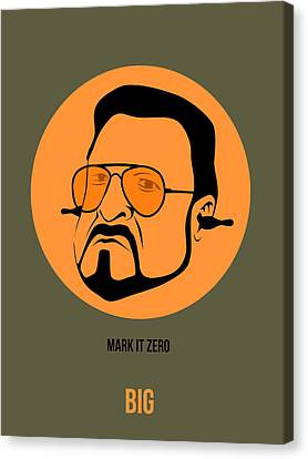 Walter Sobchak Poster 1 Canvas Print