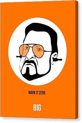 Walter Sobchak Poster 3 Canvas Print