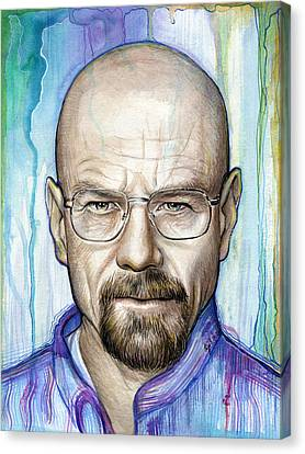 Walter White - Breaking Bad Canvas Print