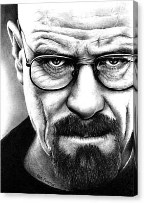 Walter White Breaking Bad Canvas Print