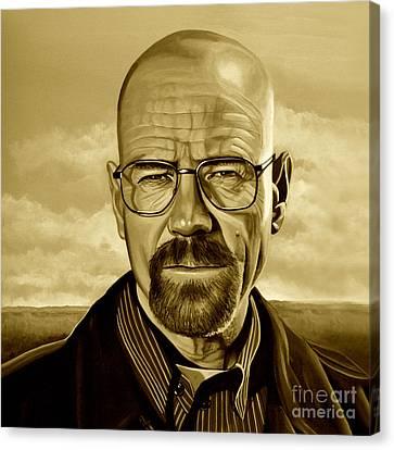 Walter White Canvas Print
