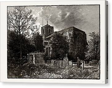 Waltham Abbey, Uk Canvas Print by Litz Collection