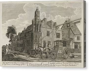 Waltham Cross Canvas Print by British Library