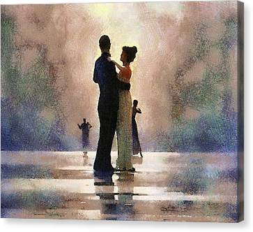 Waltz Like A Mirage Canvas Print