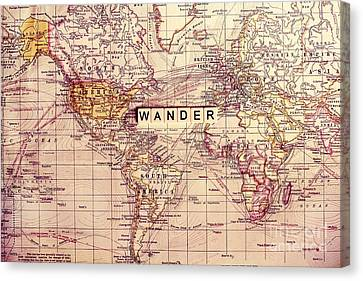 Wander Canvas Print by Sylvia Cook