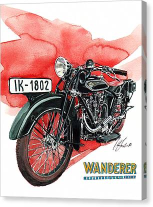 Wanderer Typ 708 Canvas Print