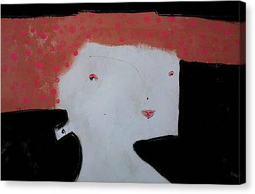 Pink Hair Canvas Print - Wanderer No. 8 by Mark M  Mellon
