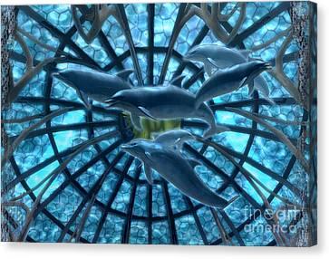 Atlantis Canvas Print - Wandering Atlantis by Asegia