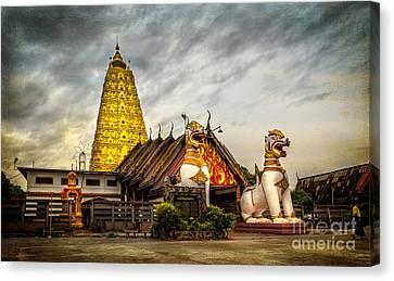 Wang Wiwekaram Temple Canvas Print by Adrian Evans