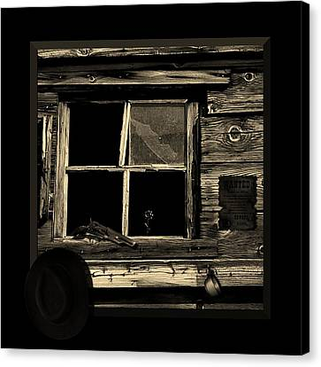 Wanted Dead Or Alive Canvas Print by Barbara St Jean
