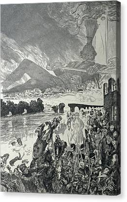 War 1910 Canvas Print by Max Klinger
