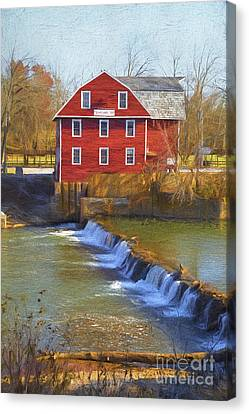 War Eagle Mill Canvas Print by Elena Nosyreva