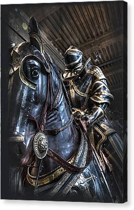 War Horse Canvas Print by Evie Carrier