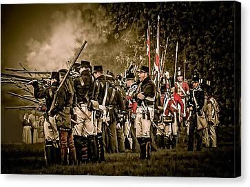 War Of 1812 Canvas Print
