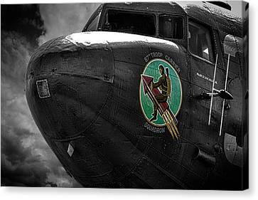 War Planes Canvas Print by Martin Newman