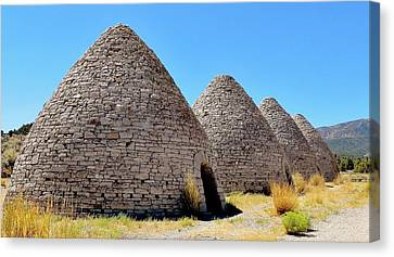 Ward Charcoal Ovens Canvas Print by Benjamin Yeager