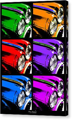 Warhol's Ride Canvas Print by Mary Machare