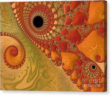 Warm And Earthy Canvas Print by Heidi Smith
