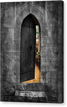 Warm And Welcome Canvas Print by Cecil Fuselier