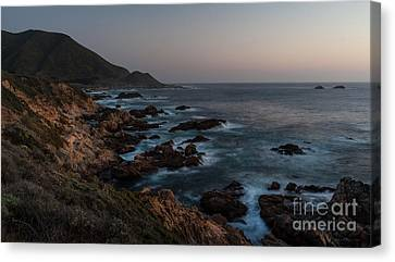 Warm California Evening Canvas Print by Mike Reid