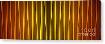 Warm Curtain Canvas Print