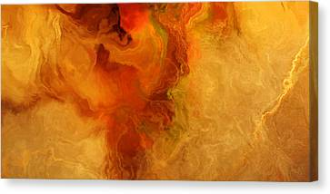 Warm Embrace - Abstract Art Canvas Print by Jaison Cianelli