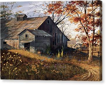 Warm Memories Canvas Print by Michael Humphries